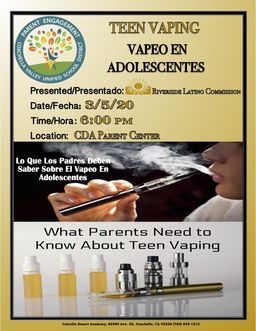 TEEN VAPING PARENT PRESENTATION 3-5-2020-PM