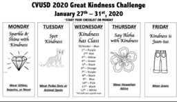 Great Kindness Challenge Spirit Week