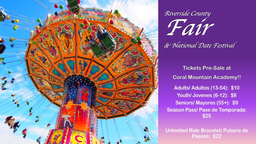 Fair Tickets Pre- Sale