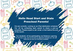 Head Start and State Preschool Parents!