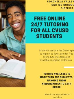 24/7 Tutoring For All CVUSD Students